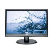 "AOC 18.5"" LED VALUE 1366 x 768 5MS 16:9 D-SUB DVI 75X75 WM SPK"