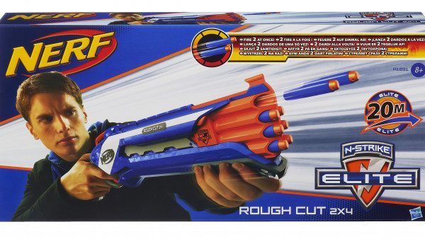 16- Nerf Nstrike Elite Rough Cut 2x4