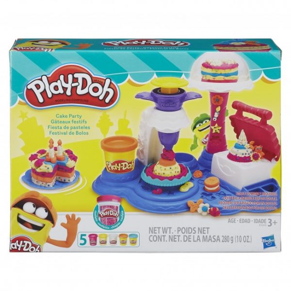 16- Playdoh Cake Party