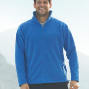 Fruit Of The Loom Full Zip Outdoor Fleec