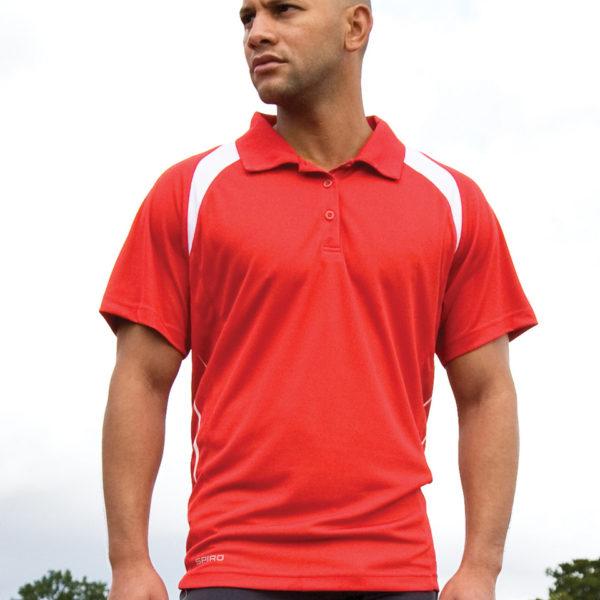 Spiro Mens Team Spirit Polo Shirt