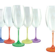 Luminosity Set of 6 Wine Glasses