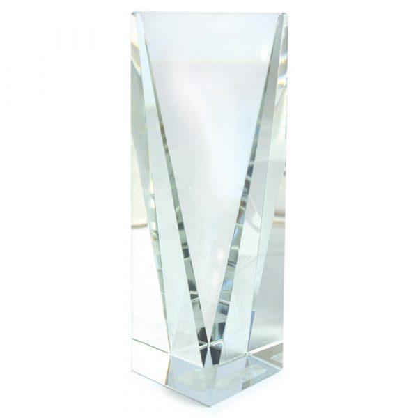 Causeway 9.5 inch Crystal Trophy