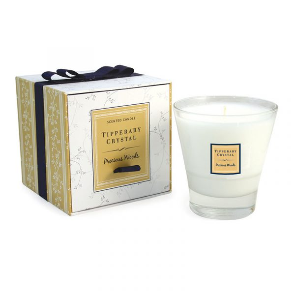 Precious Woods Candle Filled Tumbler Glass