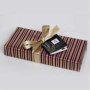 10 Choc Rectancular Box Wrapped