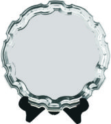 Heavy Chippendale Salver
